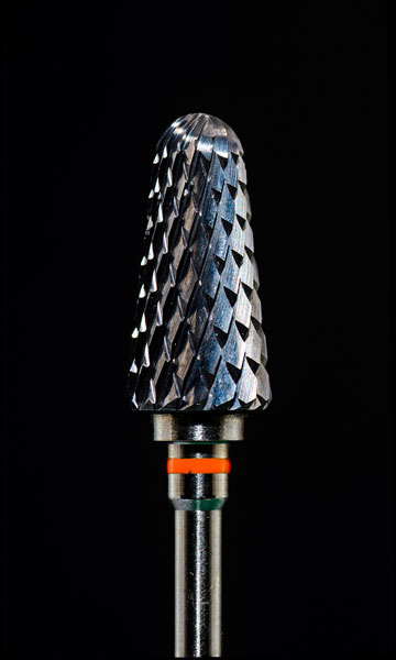 carbide bur close-up